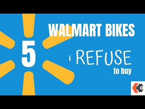 5 Walmart Bikes I Refuse to Buy! KevCentral Bike Reviews