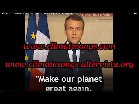 Karaoke Je ne regrette rien - with climate change lyrics