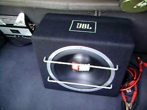 jbl subwoofer test in opel astra youtube