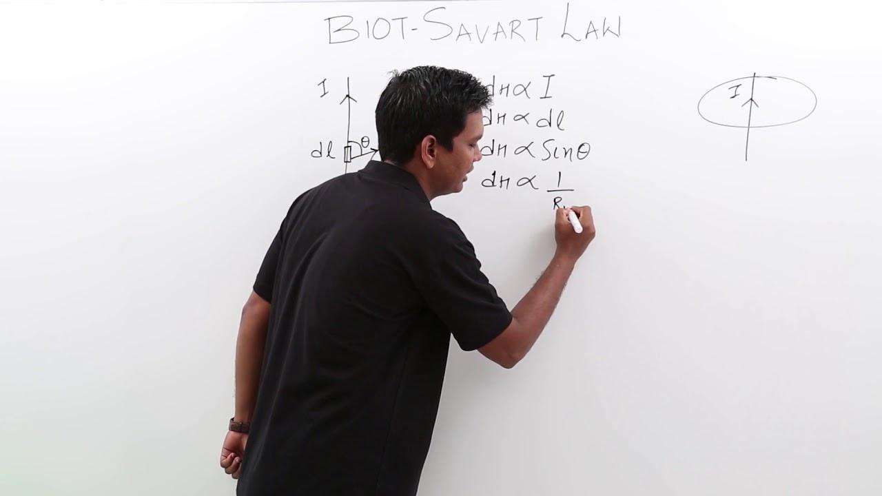 Electro Magnetics Theory - Biot Savart's Law