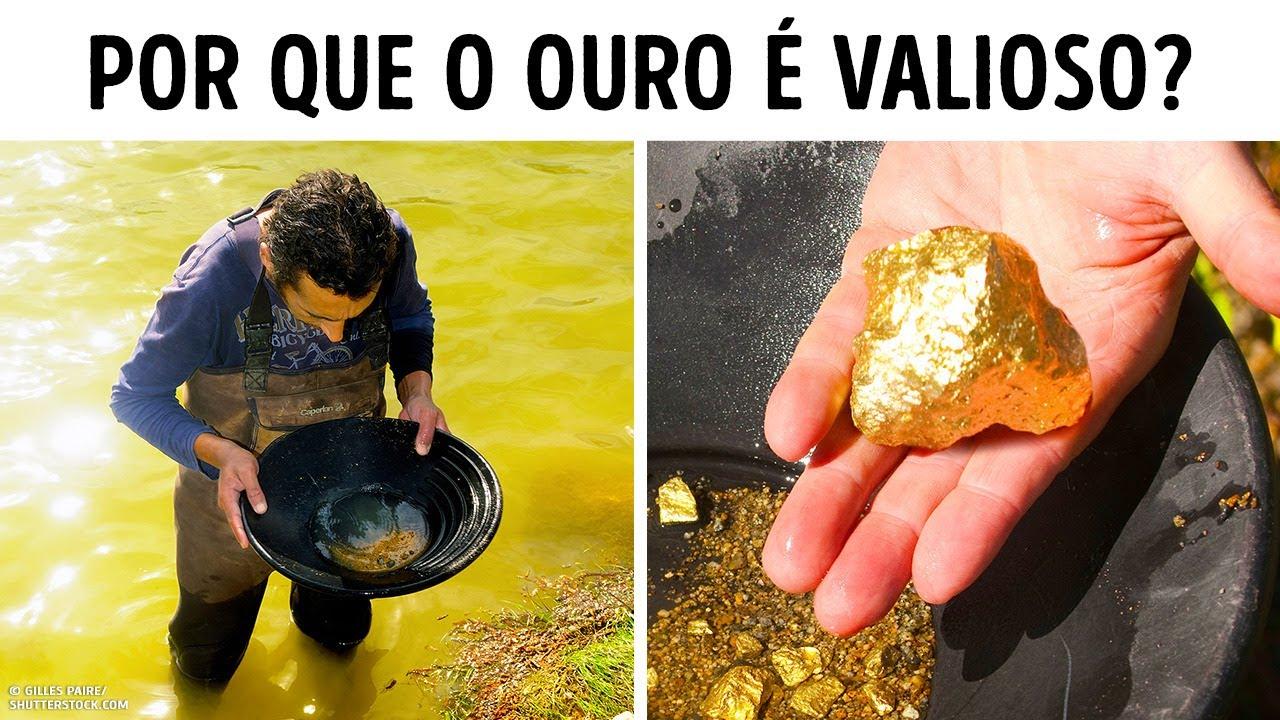 O Ouro Não é Tão Raro Quanto Você Pensa, Então Por Que é Tão Caro