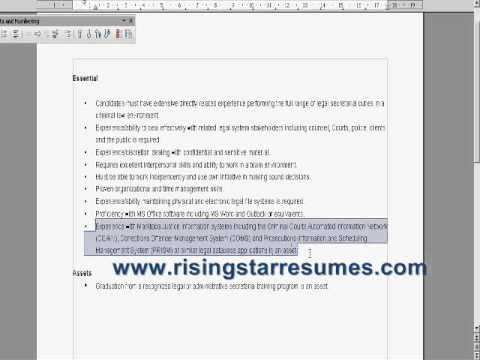 learn how employers look at your resume youtube