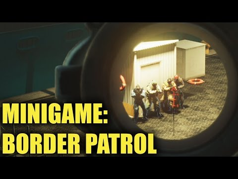 Border Patrol #3 - Rainbow Six Siege (Subscriber Minigame)