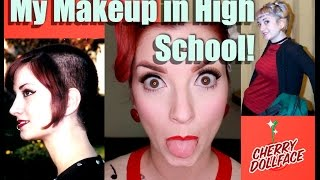 How I did my Makeup in High School! by CHERRY DOLLFACE