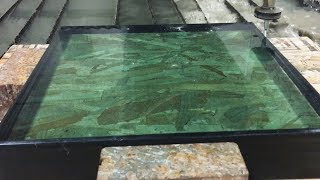Bulletproof Glass vs 60,000 PSI Waterjet