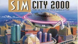Classic PS1 Game SimCity 2000 on PS3 in HD 1080p