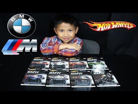 Hot Wheels BMW Wal-Mart Exclusive 8-Car Set 2016 - Diecast Car Toys