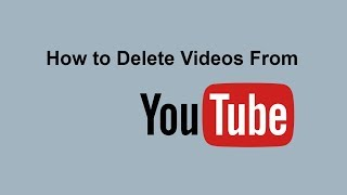 How to Delete a Video From Youtube | How to Delete Uploaded Video on Youtube