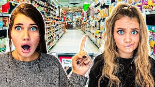 ONLY USING ITEMS FROM ONE AISLE TO COOK Challenge!