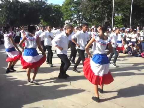 Baile La cosquillita 3ros Mes de la Patria 2014