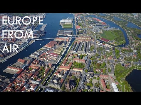 Europe From Air #1 - COPENHAGEN & MALMÖ | Mavic Pro 4k
