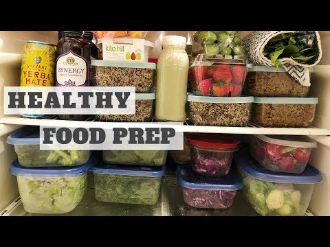 MEAL PREP WITH ME! whole foods plant based Healthy Food Videos