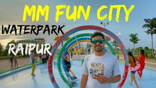 MM FUN CITY Waterpark With Ghanshyam Mirjha 36gadhiya | Raipur Chhattisgarh