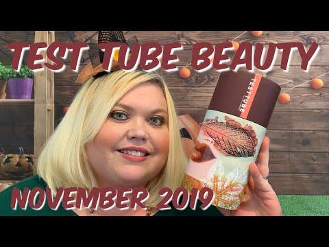 Test Tube Beauty   November 2019   So Good!