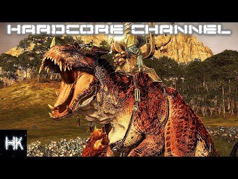 Total War Warhammer 2 - Империи смертных прохождение Hardcore Людоящеры =2= Гримлок