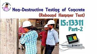 Non-Destructive Testing of Concrete    Rebound Hammer Test   