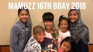 ( BIRTHDAY ) MAUZZA 16th B DAY AUG 1st 2018 - RADEN MUZZAMMIL AMBYA SAPTOHOEDOJO - SILA KOREAN RESTO