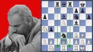 The Original Octopus - Karpov vs Kasparov   World Championship 1985 Game 16