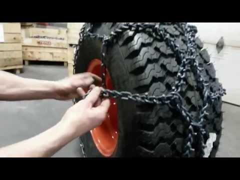 Installation chaine losange VTT Trygg (Chaine Select)