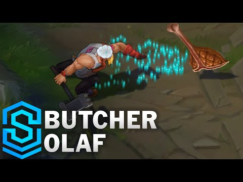 Butcher Olaf Skin Spotlight - Pre-Release - League of Legends