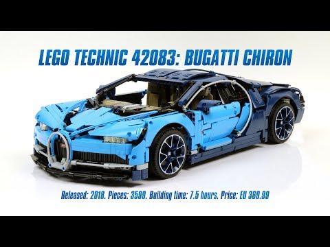 LEGO Technic 42083: Bugatti Chiron In-depth Review & Parts List [4K]
