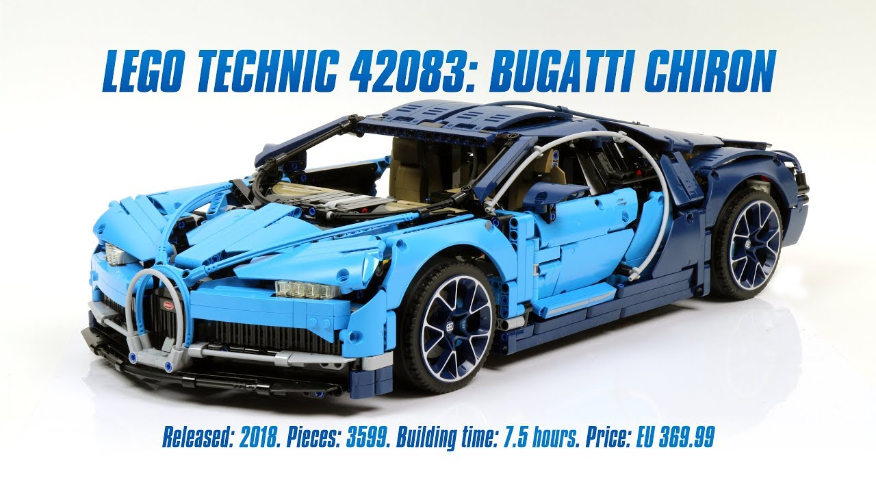 Lego Technic 42083 Bugatti Chiron In Depth Review Parts List 4k