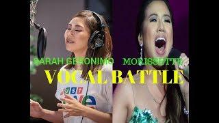 Sarah Geronimo vs. Morissette Amon - VOCAL BATTLE OF THE MILLENIUM l MUST WATCH