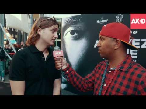 """Première 2Pac-film """"All Eyez on Me"""" met Kevin, Rocks, Fouradi, Dope D.O.D en meer"""