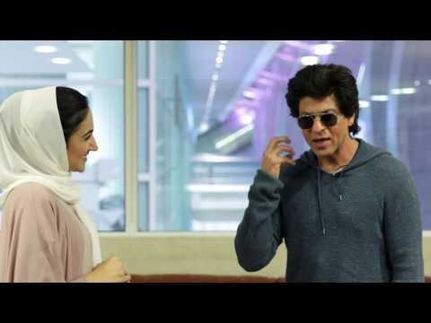 Bollywood superstar Shah Rukh Khan returns to Dubai