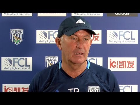 PRESS CONFERENCE: Tony Pulis addresses the media ahead of Premier League fixture v Middlesbrough