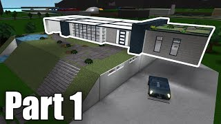 Modern Family House + Home Cinema! Roblox - BloxBurg (227K) #1
