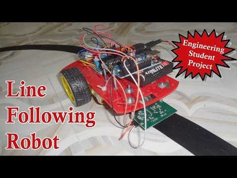Line Following Robot - Arduino Line Following Robot - Electronic Project