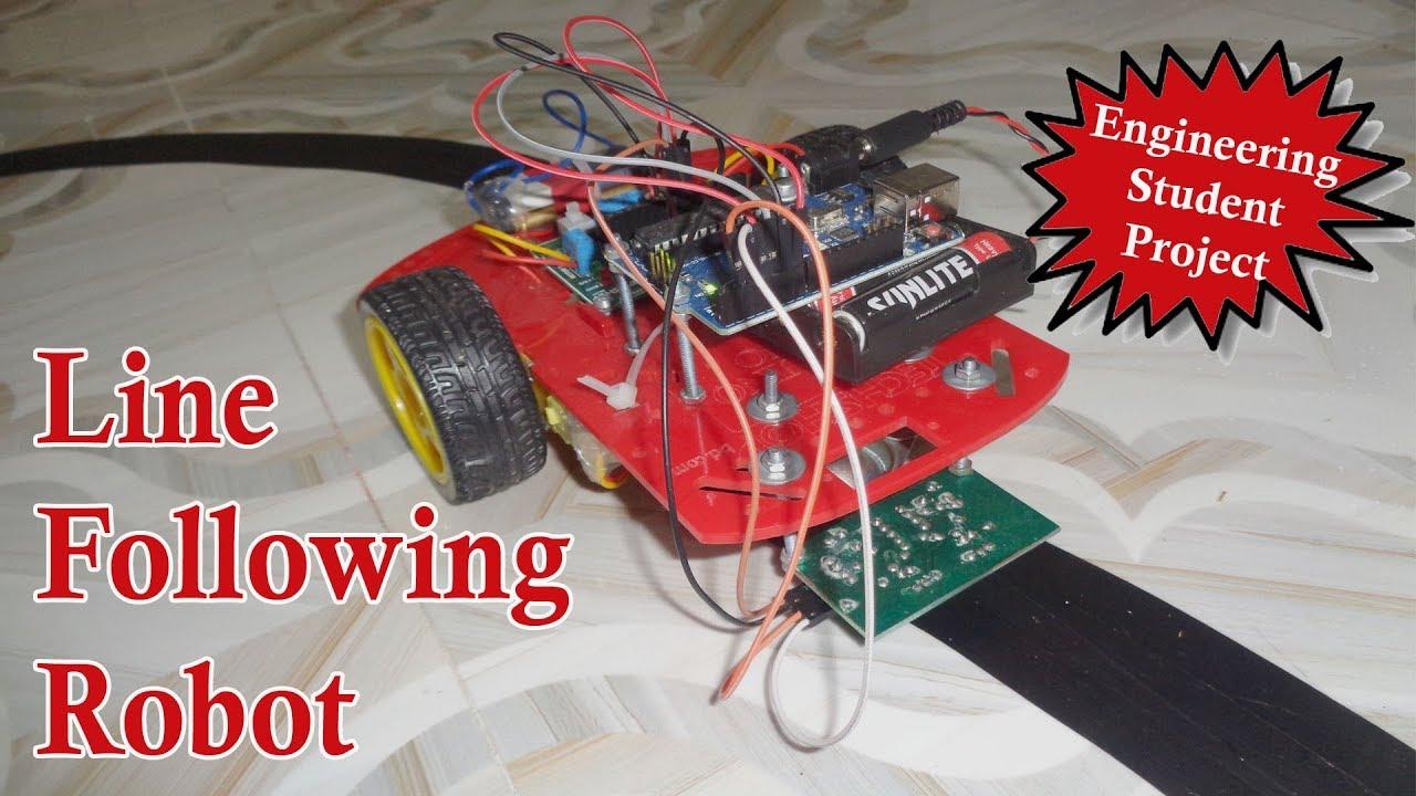 Line following robot arduino