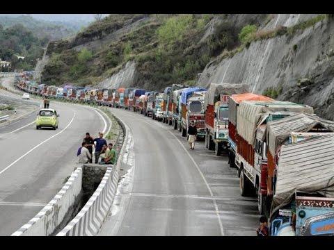 Jammu-Srinagar National Highway closed for 5th consecutive day