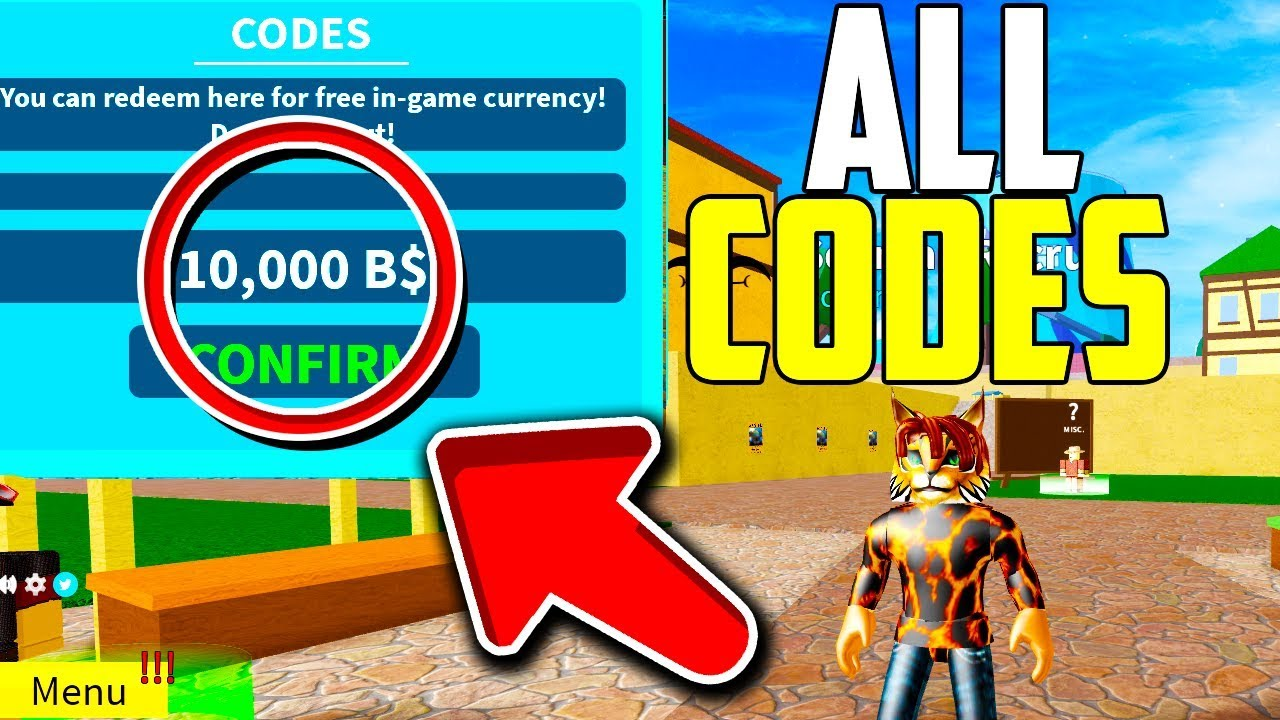 New All Working Codes For Blox Piece November 2019 Update 8