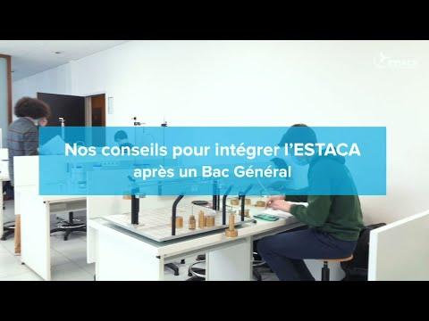 Ingénieur - Intégrer ESTACA après un Bac Général