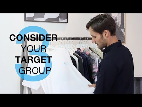 How to Start a Clothing Brand: Consider Your Target Group! (3/11)