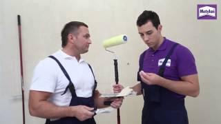видео Подготовка стен под обои