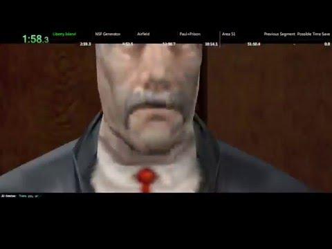 Deus Ex 420 Zyme Speedrun In 5110 Wo Loads Youtube