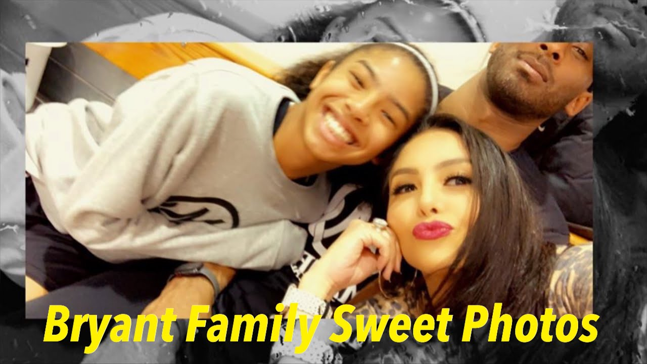 BRYANT FAMILY SWEET PHOTOS TOGETHER | KOBE BRYANT AND VANESSA BRYANT FAMILY