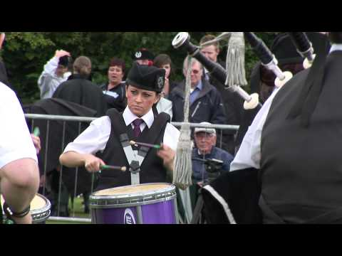 European Pipe Band Championships 2012 Part 6 HD