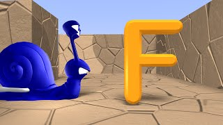 Learn The Alphabet For Toddlers, Preschoolers And Kindergarten   Alphabet Song Maze
