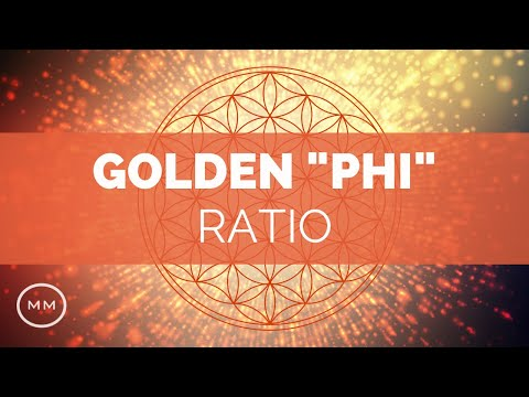 "Golden Ratio - Meditation Music - ""Phi"" Frequency - Fibonacci Sequence (1.618 Hz) - Binaural Beats"
