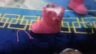 Botas Tejidas a Crochet FINAL