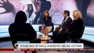 Number of Male Domestic Abuse Victims Doubles