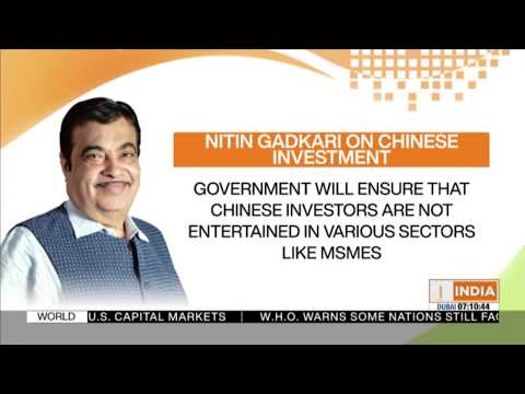 India will not allow Chinese companies to participate in highway projects, says Nitin Gadkari