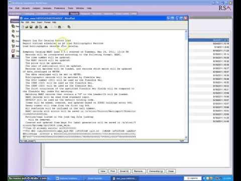 OCLC Cataloging Level - Loading Bib Records