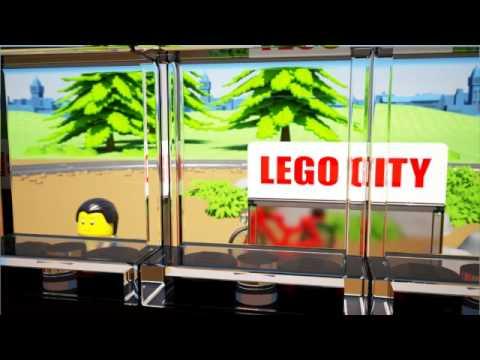 Конструктор LEGO City Trains 60051 Скоростной пассажирский поезд