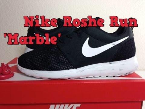 acf91d81937bb Nike Roshe Run  Marble  Unboxing
