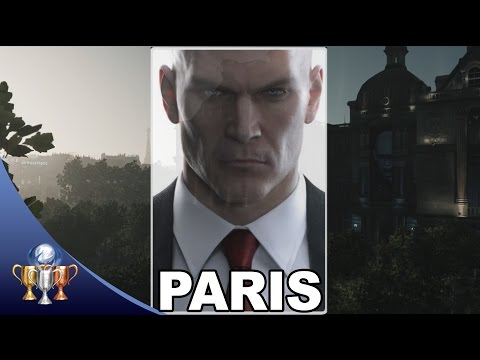 Hitman Paris - The Showstopper - Silent Assassin, Suit Only & Meeting the Reaper Trophy